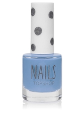 Topshop Nails In Celestial Pale Blue