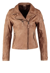 Gipsy Joyce Lasov Leather Jacket Camel