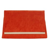 Coast Celina Suedette Clutch Orange