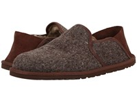 Ugg Cooke Donegal Grizzly Men's Slippers Brown