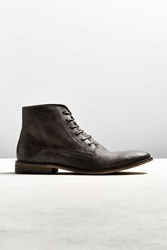 Urban Outfitters Uo Distressed Lace Up Boot Grey