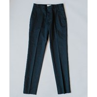 Folk Navy Twill Counter Trousers