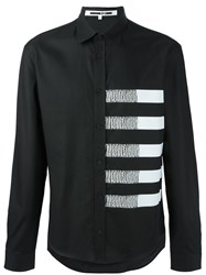 Mcq By Alexander Mcqueen Striped Shirt Black