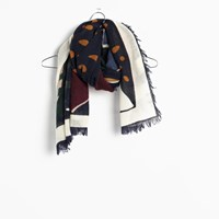 Madewell River Mountain Scarf Ink