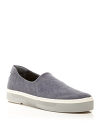 Stuart Weitzman Slip On Sneakers Flair Micro Stretch Marine
