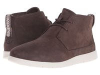 Ugg Freamon Capra Chocolate Leather Men's Lace Up Boots Brown