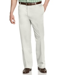 Izod Big And Tall Pants Wrinkle Free Legacy Chino Flat Front Pants Stone