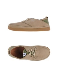 Volta Lace Up Shoes Light Green