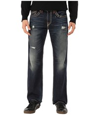 True Religion Billy Boot Super T In Indigo Highlights Indigo Highlights Men's Jeans Blue