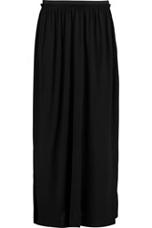 By Malene Birger Scina Stretch Jersey Maxi Skirt Black