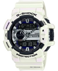 G Shock Men's Analog Digital G'mix White Bracelet Watch 55X51mm Gba400 7C
