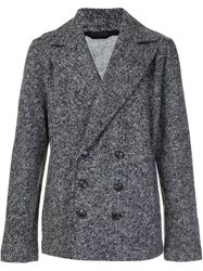 Atm Anthony Thomas Melillo Short Peacoat Grey
