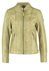 Gipsy Chiva Leather Jacket Light Mint