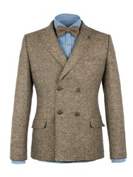 Gibson Men's Taupe Double Breasted Jacket Taupe