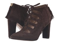 Adrienne Vittadini Neano Dark Chocolate Kidsuede Women's Boots Brown