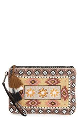Steven By Steve Madden 'Samara' Beaded Clutch