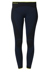 Odlo Evolution Warm Greentec Base Layer Navy Blue