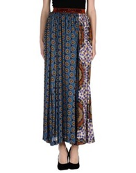 Michelle Windheuser Long Skirts Pastel Blue