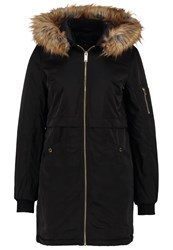 Dorothy Perkins Luxe Parka Black