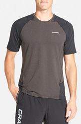Craft 'Precise' Moisture Wicking Training T Shirt Black