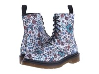 Dr. Martens Page Wanderlust 8 Eye Boot Off White Wanderlust T Canvas Women's Lace Up Boots Multi