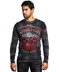 Affliction Checkpoint Thermal Charcoal