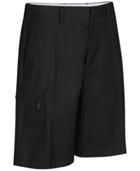 Greg Norman For Tasso Elba Big And Tall 5 Iron Performance Golf Shorts Deep Black