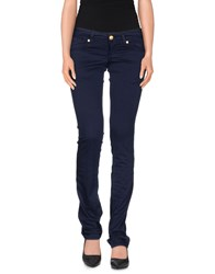 Amy Gee Trousers Casual Trousers Women Dark Blue