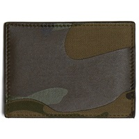 Valentino Camouflage Card Holder Army Green
