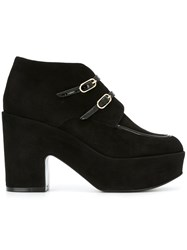 Robert Clergerie Buckled Boots Black