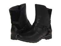 Teva De La Vina Low Black Women's Zip Boots