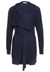 Kiomi Cardigan Black Iris Dark Blue