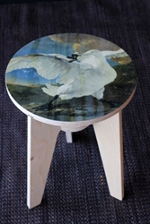 Nlxl Stool By Piet Hein Eek The Threatened Swan