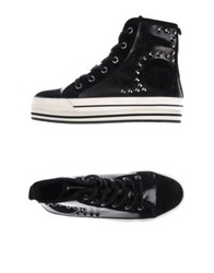 Miss Sixty High Tops And Trainers Black