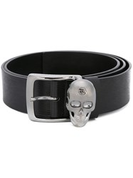 Philipp Plein 'Star City' Belt Black