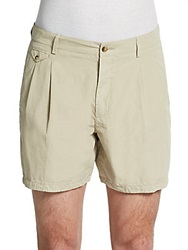 Dolce And Gabbana Cotton Shorts Beige