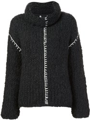 Altuzarra Chunky Knit Jumper Grey