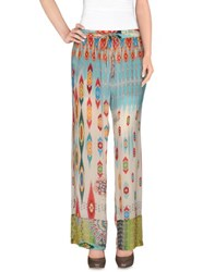 Johnny Was Trousers Casual Trousers Women Turquoise