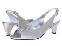 David Tate Party Silver Women's Sandals