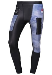 Reebok Tights Collegiate Navy Blue