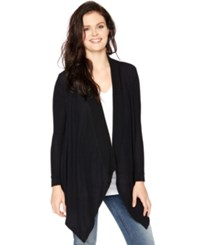 Motherhood Maternity Open Front Draped Cardigan
