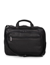 Kenneth Cole Reaction Colombian Leather Point Of De Port Ure Computer Portfolio 16 In. Black