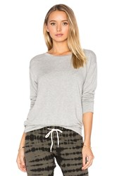 Monrow Lounge Sweatshirt Grey