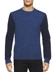 Calvin Klein Jeans Space Dyed Heathered Crew Shirt Navy Heather
