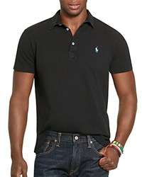 Polo Ralph Lauren Featherweight Mesh Regular Fit Polo Shirt 100 Bloomingdale's Exclusive Polo Black
