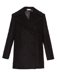 Nina Ricci Double Breasted Wool Pea Coat