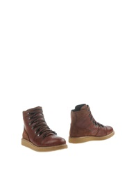 Primabase Ankle Boots Brown