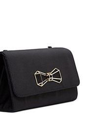 Ted Baker Bow Clutch Black Gold