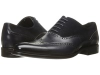Stacy Adams Stanbury Wingtip Oxford Navy Men's Lace Up Wing Tip Shoes
