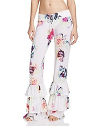 Pilyq Summer Fleur Swim Cover Up Pants Multi